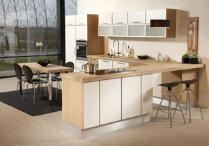 Mitchells Solid Wood Kitchen Worktops Southampton