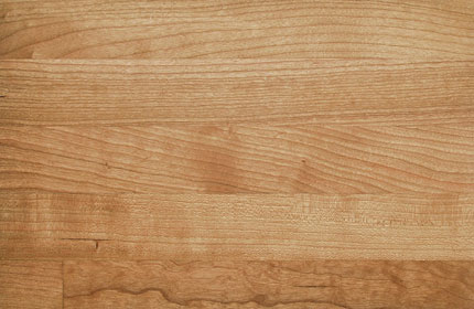 American Cherry solid wood kitchen worktop