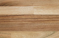 Elm solid wood kitchen worktop