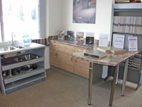Kitchen worktop Showroom