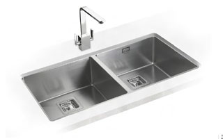 Rangemaster Atlantic Kube kitchen sink