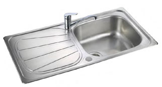 Rangemaster Baltimore kitchen sink