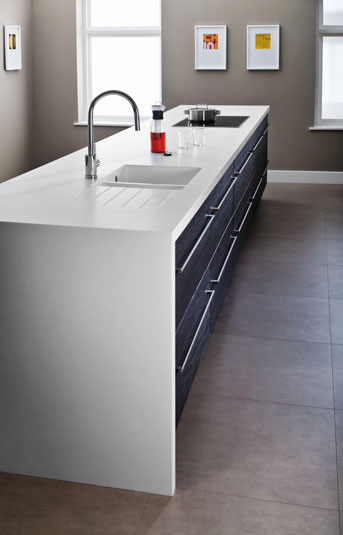 encore glacier white solid surface worktop