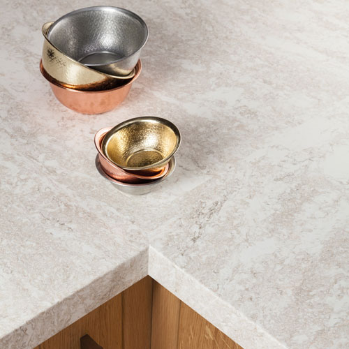 Encore Mountain Haze solid surface worktop